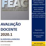 Avaliação docente 2020.1
