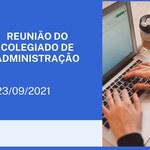 Reunião do Colegiado de Administração 23/09.