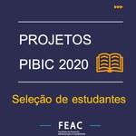Seleção de estudantes - PIBIC 2020