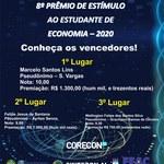 Vencedores 8° Prêmio de Estímulo ao Estudante de Economia