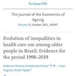 """Artigo publicado na Revista internacional"""" The Journal of the Economics of Aging"""""""