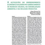 Publicação de livro contém contribuição de discente e egresso do CMEA